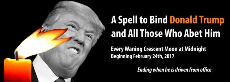 The Evil Origins of the Witches' Mass Ritual to #bindtrump